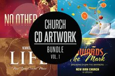 Check out Church CD Artwork Bundle-Vol 1 by loswl on Creative Market