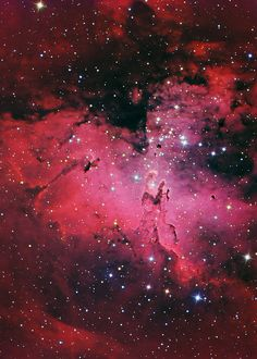 The Eagle Nebula and Pillars Of Creation (M16) | Flickr - Photo Sharing!