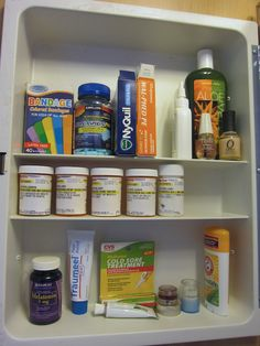 Day 15: After. I got rid of expired meds and rearranged the rest. @Becky_ Organizing Made Fun™ #spontaneousorganizing