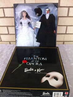 The Phantom of the Opera 1998 FAO Schwartz Barbie & Ken Doll Together Giftset #Mattel #Dolls
