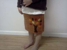 Upcycle a Sweater into a cute toddler Skirt!