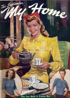 My Home magazine from September 1946