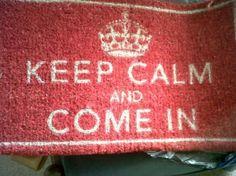 The doormat ...