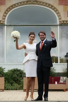 Civil Wedding of Prince Felix of Luxembourg and Claire Lademacher on 17 Sep 2013 in Konigstein, Germany