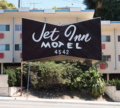 Jet Inn Motel, Inglewood, CA.  (Close to the L.A. Airport)