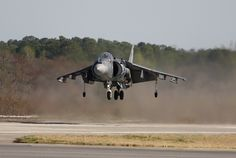 Harrier Jet in NC
