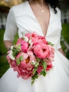 20 Utterly Gorgeous Peony Bouquets | SouthBound Bride
