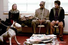 Danny the Dog publicity still of Morgan Freeman & Jet Li