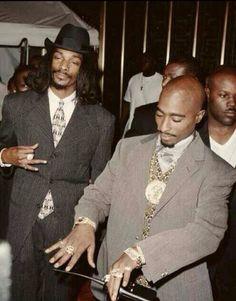 Snoop Dog and Tupac, 1996