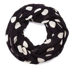 "Sole Society ""Polka Dot Infinity Scarf"", $Array"