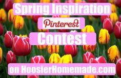 Spring Inspiration Pinterest Contest