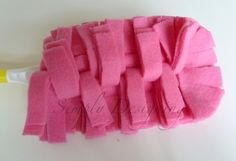Reusable Swifter Duster Cover - these are really easy to make and they work BETTER then the disposable ones you buy!!  Plus they are eco friendly and cheaper.  Love an easy cleaning DIY!  Click the image to see the full tutorial on how to make these!  #cleaning #dusting #DIY