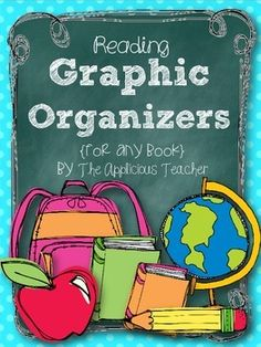 Here's a pack of easy print and go reading graphic organizers. Includes sheets for: -story elements-central topic and details-retelling events in order-character traits -compare and contrastFor more tips and ideas, check out my blog:The AppliciousTeacher.blogspot.com