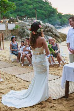 Pretty and cool wedding dress #Beach #Wedding #Love