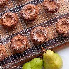 Sweet Twist of Blogging: Nutella Pear Cakes