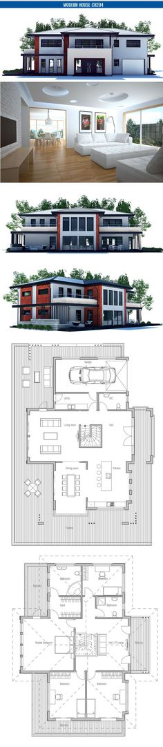 Modern Home Floor Plans Collection Part 1 Love it .. <3