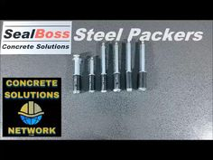 SealBoss ® Steel mechanical injection packers are designed to withstand high-pressure injection applications. To learn more click below. #chemicalinjection #accessories Concrete Repair Products, Steel Material, Packers, Accessories, Jewelry Accessories