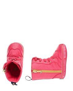 Juicy Couture Baby Hi-Top Zip Sneaker