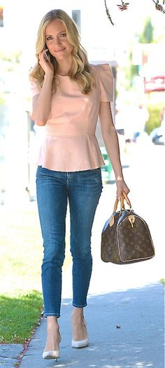 Kristin Cavallari casual style