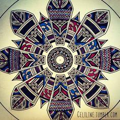 WORK IN PROGRESS… #zentangle #doodle #drawing #moleskine #illustration #sketchbook #sketches #sketching #notebook #artwork #zendoodle #creative #ink #doodling #artstag #artwork #mandala#style#artpiece #sketchpad #zen #artoftheday #instaart #pencil #noir#black