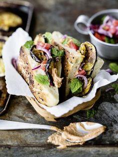 Auberginen-Döner: http://kochen.gofeminin.de/rezepte/rezept_auberginen-doner_336950.aspx  #vegetarisch