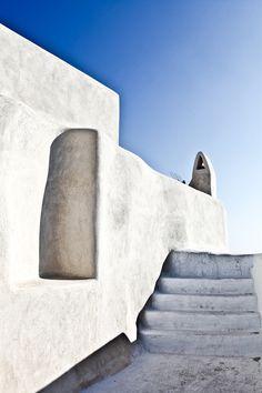 Oia Santorini Greece, Architecture