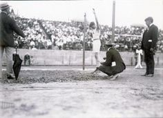 Ray Ewry won eight gold medals in the 1900, 1904, and 1908 Games, and remained the American with the most individual gold medals until Michael Phelps surpassed him. Ewry was struck with polio when he was seven and was told that he may never walk again. One doctor said he should try jumping exercises to build the strength of his legs. He went from being unable to walk to becoming one of the most celebrated jumpers in Olympic history.