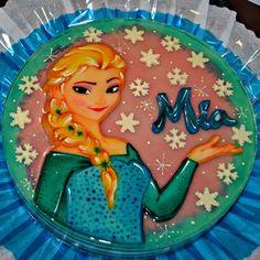 Frozen Elsa Gelatin