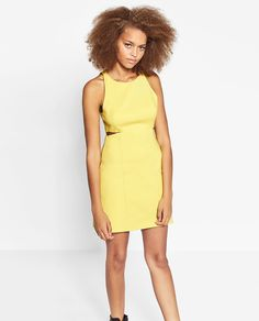ZARA - WOMAN - DRESS WITH SLITS
