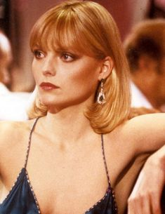 10 Fabulous Movie Makeup Looks Through the Years, Elvira in Scarface, played by Michelle P. You don't know anything about contour unless you've seen Michelle Pfeiffer in Scarface. Vintage Bob, Michelle Pfeiffer Scarface, Elvira Hancock, Movie Makeup, Makeup Art, Fashion Essentials, Style Essentials, American Actress, Berry
