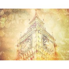 London Big Ben Digital Print Wall Art Photography London lovers London... (7.89 CAD) ❤ liked on Polyvore featuring home, home decor, wall art, london wall art, photography wall art, big ben clock and photographic wall art