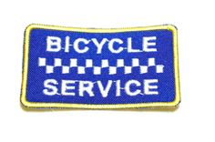 BICYCLE SERVICE Embroidered patch quilt patches by MadeinHans