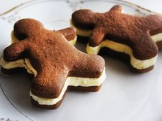 Beekman Boys Gingerbread Men Sandwiches with Orange Frozen Custard | Beekman1802.com