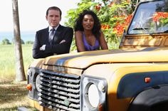 Ben Miller and Sarah Martins in Death in Paradise