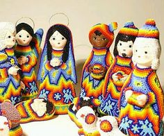 Nacimiento huichol mexicano
