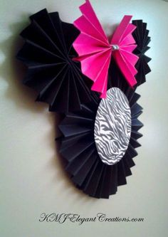 Minnie Mouse Paper Pinwheel