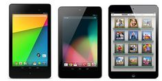 Find out the difference between All New Nexus 7 and Original Nexus 7, then compare them to iPad Mini. 2nd Generation Nexus 7 vs Nexus 7 vs iPad Mini : Specs Comparison.