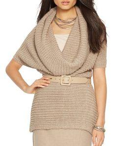 Lauren Ralph Lauren Cowl Neck Sweater | Bloomingdale's