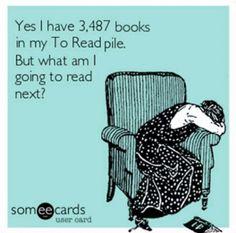 TBR too many books