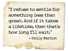 Dolly...oh so wise.