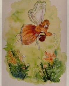 Spring Fairy Spring Fairy, Fairies, Watercolor, Painting, Art, Pictures, Art Background, Faeries, Watercolour