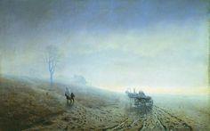 Осенняя распутица. 1872. Архип Иванович Куинджи