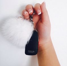 I'm posting this for this girl's French manicure lol Car Accessories For Girls, Car Keys, Jeep Keys, Cars For Girls, Car Stuff, My Dream Car, Dream Cars, Keychains, French Manicures