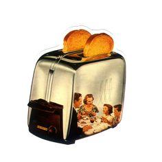 #1177 Toast , Width 8 cm, decal sticker - DecalStar.com