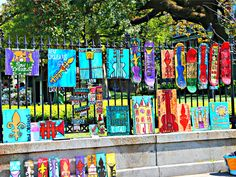 Jackson Square, New Orleans Colorful Art is Very Common Spring Time, Many Tourist in Town… People who own a French Quarter […] New Orleans French Quarter, Jackson Square, Square Art, Condos, Spring Time, The Neighbourhood, Colorful, Painting, The Neighborhood