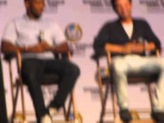 Sebastain Stan and Anthony Mackie at Wizard World Comic Con Philadelphia 2014 ---> whole panel