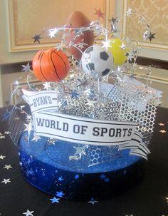 Ryan's World of Sports Centerpiece
