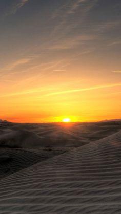 Sunset In The Desert Iphone 5s Wallpaper Matahari Terbit Perjalanan Dekorasi
