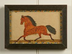 A Group of 5 Exceptional Watercolor Drawings | Olde Hope Antiques