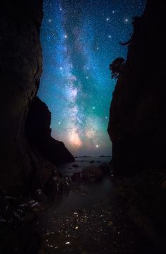 Night on Earth - Olympic National Park Washington by DaveMorrow landscape landscape photography milky way night photography night sky star photography Night on Eart Beautiful Sky, Beautiful World, Star Photography, Night Photography, Landscape Photography, Photography Tutorials, Landscape Photos, Nature Photography, Night On Earth